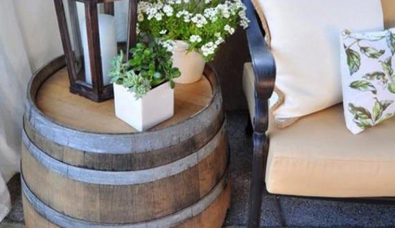 Beistelltisch Terrasse terrasse gestalten mit diy beistelltisch rund freshouse