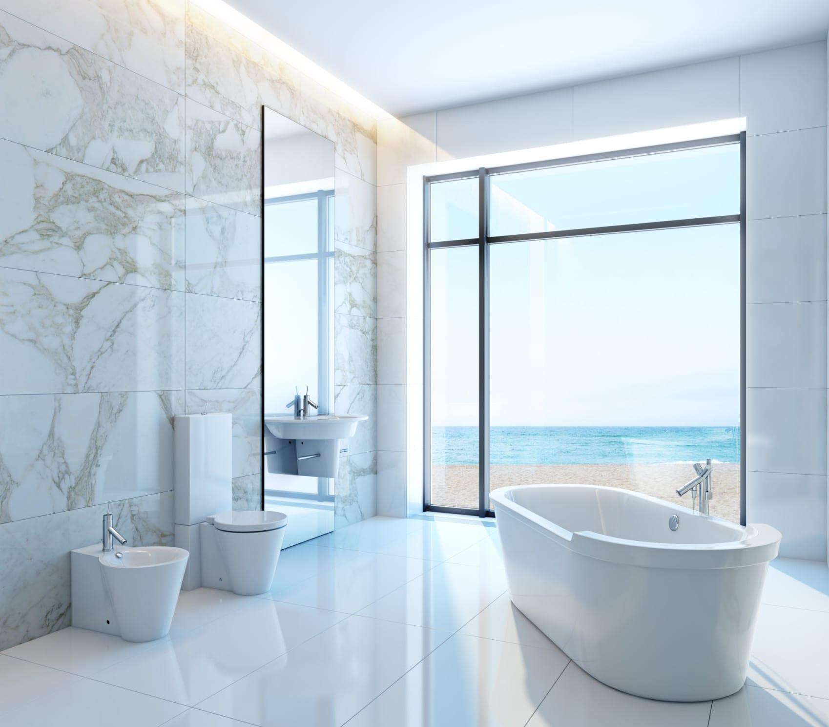 Bodenfliesen im Badezimmer – Trends 2016 für moderne ...