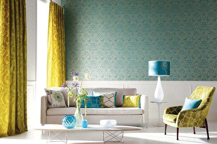 Hervorragend Gelb Und Blau Im Wohnzimmeru2013 Raumgestaltung Mit Sonnigem