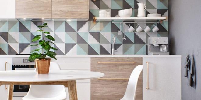 Kleine Wohnung Modern Und Funktionell Einrichten_Moderne Küche In