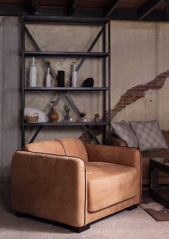 leder accessoires und m bel f r einen zeitlosen und extravaganten stil im wohnzimmer freshouse. Black Bedroom Furniture Sets. Home Design Ideas