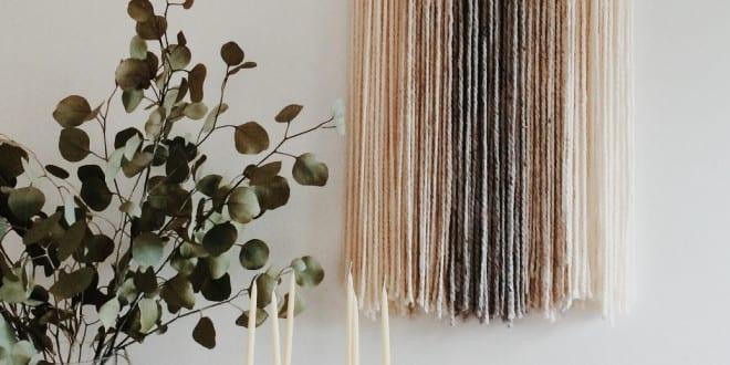 wandbehang deko selber machen und w nde kreativ dekorieren freshouse. Black Bedroom Furniture Sets. Home Design Ideas
