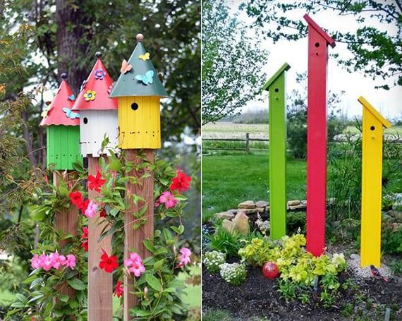 50 Ideen für DIY Gartendeko und kreative Gartengestaltung mit vogelhäusern fresHouse ~ 04211908_Gartendeko Mit Kindern Gestalten