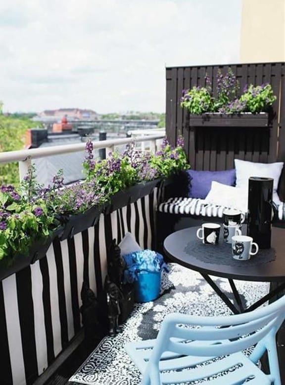 Balkon Dekorieren der balkon balkon dekorieren als unser kleines wohnzimmer im