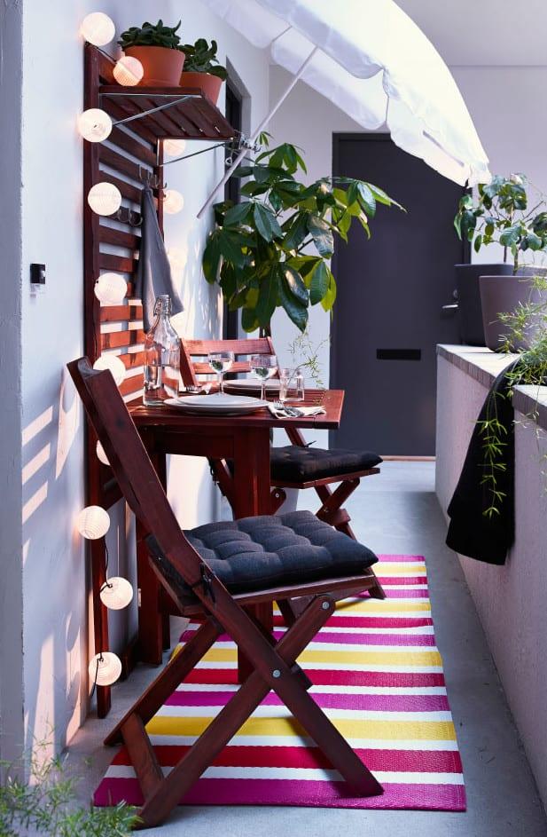 Der Balkon - kleiner balkon gestalten als unser kleines Wohnzimmer ...