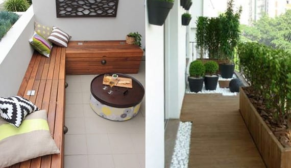 der balkon unser kleines wohnzimmer im sommer mit diy holzbank freshouse. Black Bedroom Furniture Sets. Home Design Ideas