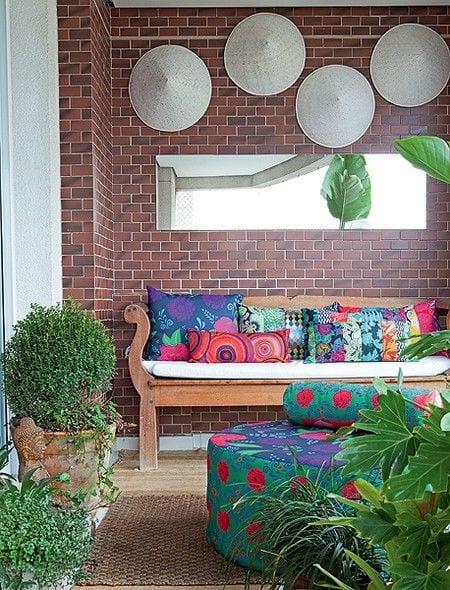 Der Balkon Unser Kleines Wohnzimmer Im Sommer Mit Kreativer