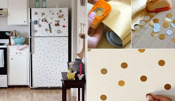 Retro Kühlschrank Neu : Die küche mit diy retro kühlschrank ausstatten der alte