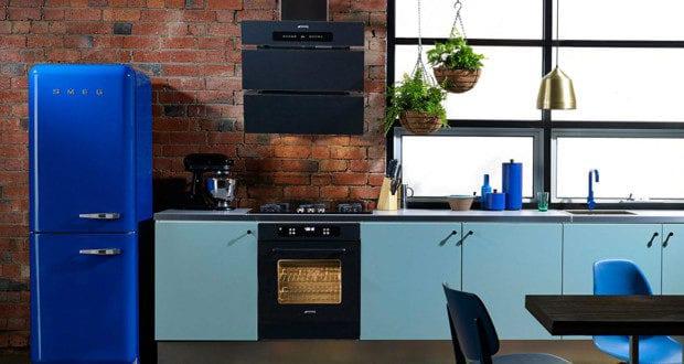 Retro Kühlschrank Blau : Die küche mit diy retro kühlschrank ausstatten küchen ideen für