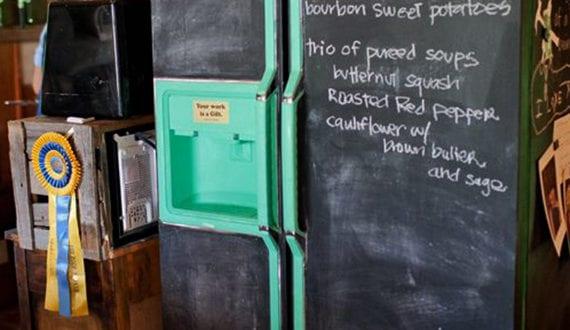 Retro Kühlschrank Neu : Die küche mit retro kühlschrank ausstatten alter kühlschrank neu