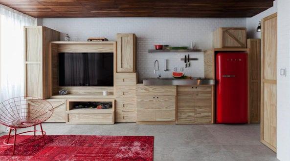 Die Küche mit Retro Kühlschrank ausstatten
