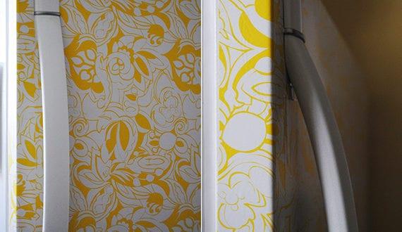 Retro Kühlschrank Orange : Die küche mit retro kühlschrank in gelb ausstatten freshouse