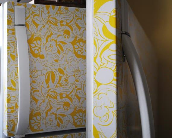 Retro Kühlschrank Gelb : Die küche mit retro kühlschrank in gelb ausstatten freshouse
