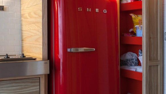 Retro Kühlschrank Rot Kaufen : Die küche mit retro kühlschrank in rot ausstatten freshouse
