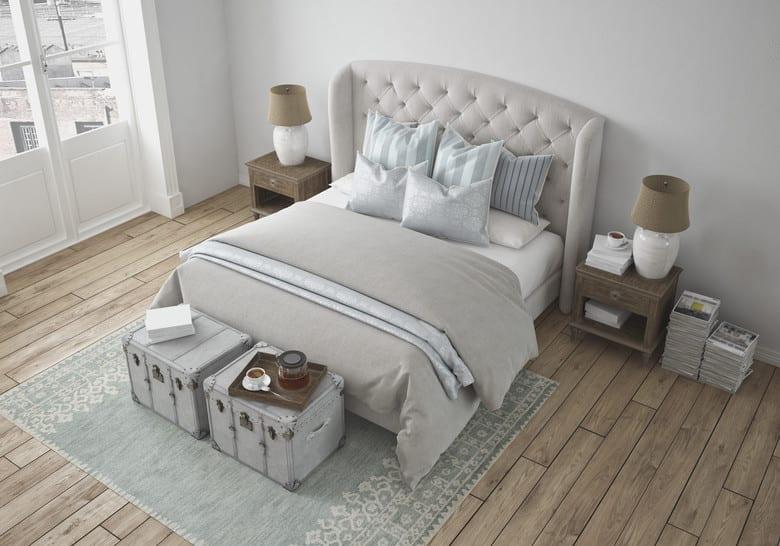 luxury vintage style bedroom. 3d rendering - fresHouse