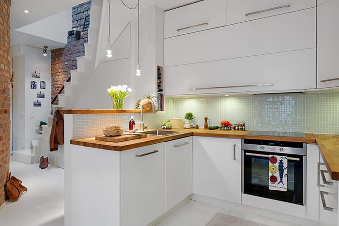 Küchen skandinavischen stil  Maisonette_die Traumwohnung im skandinavischen Stil mit moderner ...