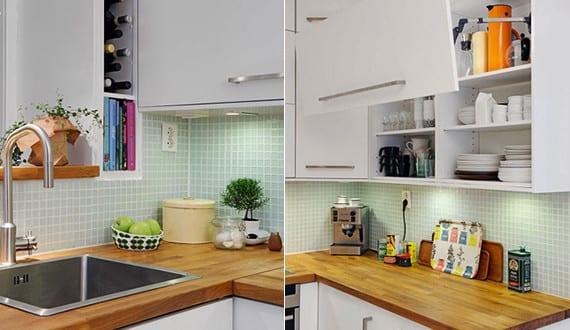 Küchen skandinavischen stil  Maisonette_eine-Traumwohnung-mit-offener-Küche-in-weiß-im ...