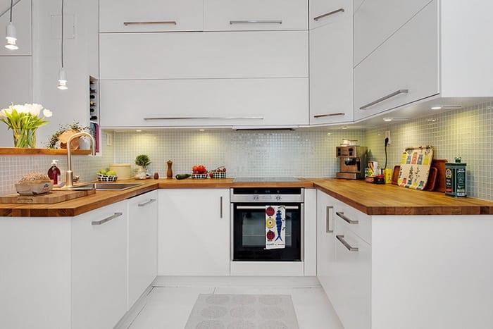 Küchen skandinavischen stil  Maisonette_eine Traumwohnung und kleine Küche im skandinavischen ...