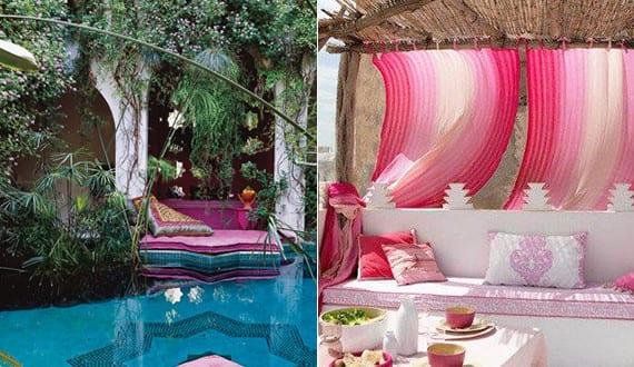 Mein Schöner Garten Im Boho Style Mit Pool