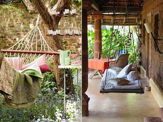 Mein Schöner Garten Im Boho Style Mit Schaukel