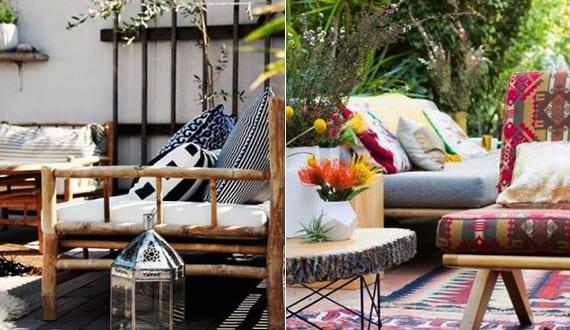 mein sch ner garten im boho style und idee f r terrasse la boheme freshouse. Black Bedroom Furniture Sets. Home Design Ideas