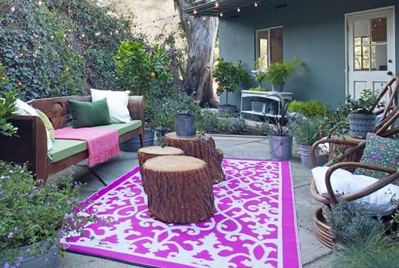Mein Schöner Garten Im Boho Stylecoole Idee Für Gartengestaltung