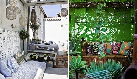 mein sch ner garten im boho style ideen f r gem tliche sitzecken im garten freshouse. Black Bedroom Furniture Sets. Home Design Ideas
