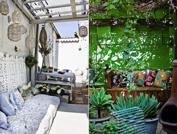 mein sch ner garten im boho style ideen f r gem tliche sitzecken im garten freshouse. Black Bedroom Furniture Sets. Home Design Ideas