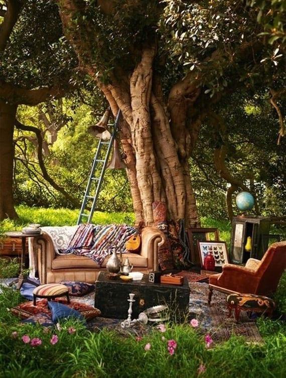 Mein Schöner Garten Im Boho Style_interessante Gartengestaltung Und