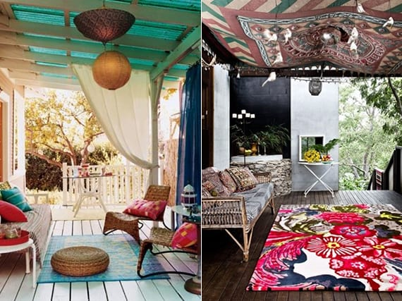 mein sch ner garten terrasse im boho style freshouse. Black Bedroom Furniture Sets. Home Design Ideas