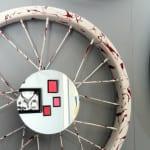 kreative dekoideen und bastelideen mit fahrradfelgen