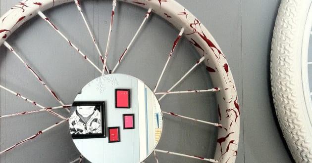 Recycling alter Fahrradfelgen und ihre Verwertung im Garten und Innenraum