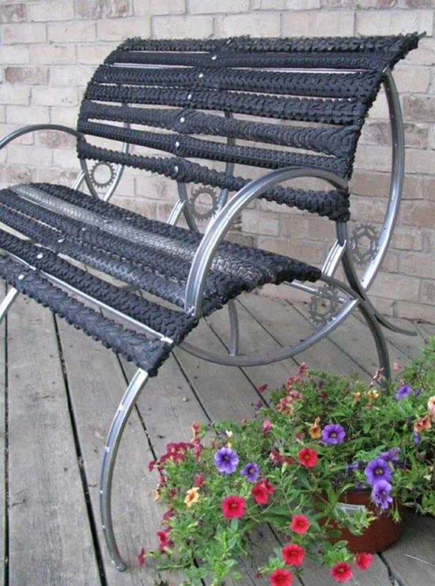 recycling alter fahrradfelgen und ihre verwertung im garten und innenraum idee f r diy. Black Bedroom Furniture Sets. Home Design Ideas