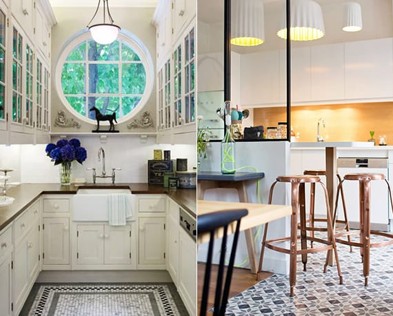 Wohnk Chen beleuchtung kleiner küchen und ideen für komfortable wohnküchen in der kleinen wohnung freshouse