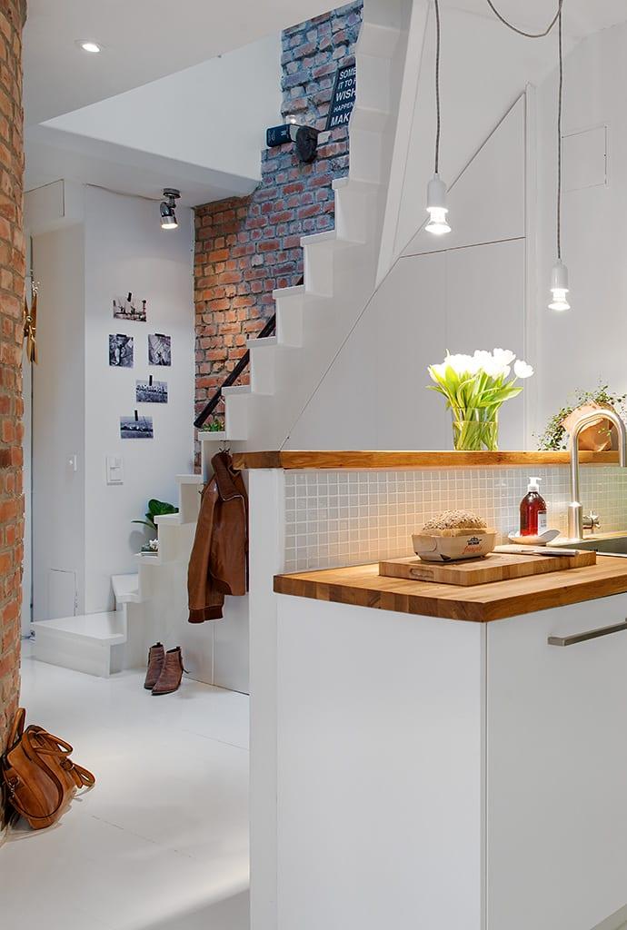 die moderne Maisonette_eine Traumwohnung im skandinavischen Stil mit ...