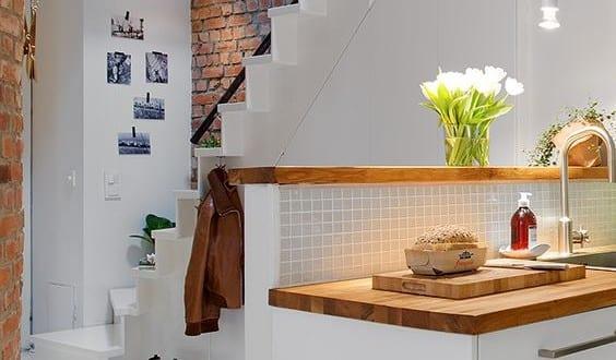 Die Wohnküche In Kleiner Wohnung_Coole Ideen Und Moderne