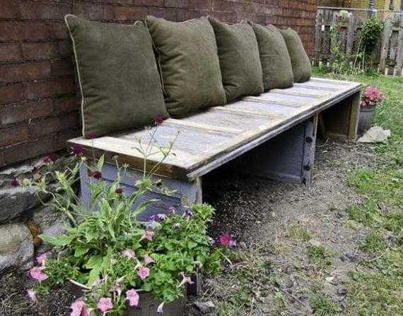 50 Coole Garten Ideen Für Gartenbank Selber Bauen Aus