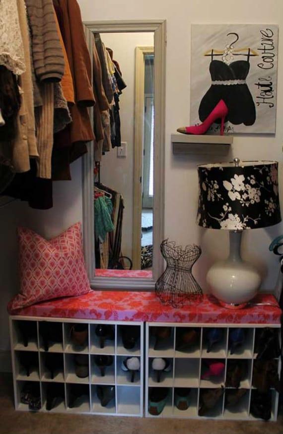 Wohnideen Für Schuhregal Selber Bauen_diy Schuhschrank Idee