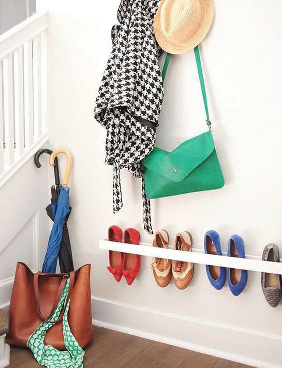 wohnideen f r schuhregal selber bauen flur kreativ gestalten mit diy schuhregal freshouse. Black Bedroom Furniture Sets. Home Design Ideas