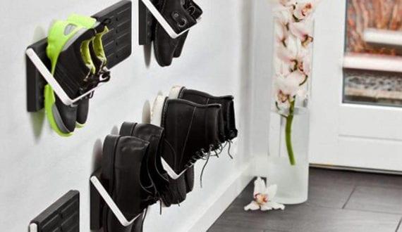 Schuhregal Diy wohnideen für schuhregal selber bauen kreative ideen für diy