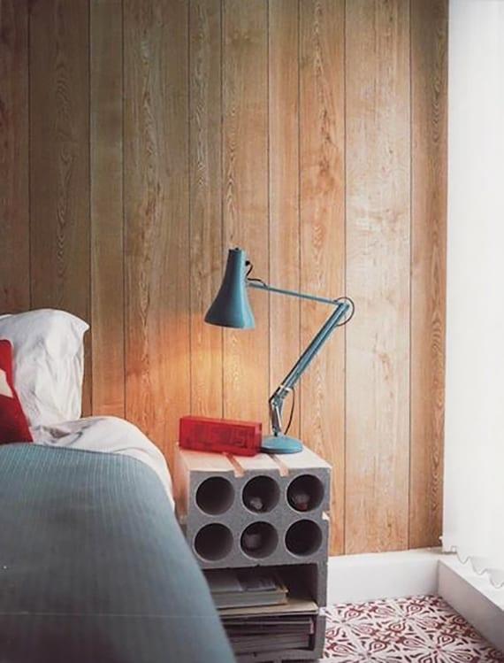 Diy Nachttisch betonblöcke für tolle diy möbel moderne schlafzimmereinrichtung mit