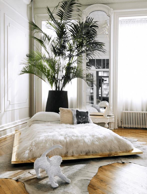 bett selber bauen f r ein individuelles schlafzimmer design diy bett aus holzplatte auf rollen. Black Bedroom Furniture Sets. Home Design Ideas