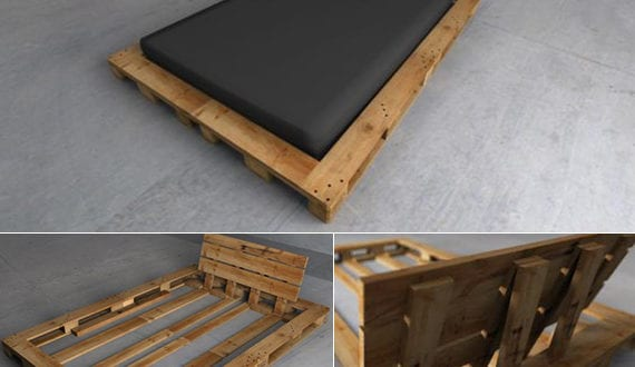Bett selber bauen paletten  Bett-selber-bauen-für-ein-individuelles-Schlafzimmer-Design_diy ...