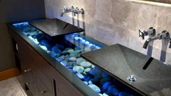 Deko-Ideen-mit-Steinen-für-innen-und-außen_coole-badezimmer-idee-für ...