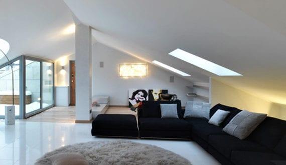 dachgeschosswohnung mit dachterrasse die vorteile unterm dach zu wohnen freshouse. Black Bedroom Furniture Sets. Home Design Ideas