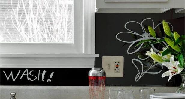 Verkleidung Fliesenspiegel die alte küche mit neuem fliesenspiegel verschönern freshouse