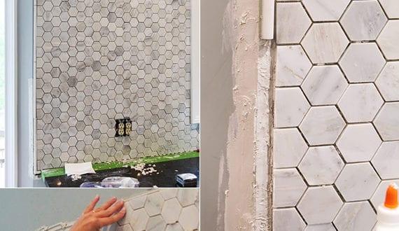 Die-alte-Küche-mit-neuem-Fliesenspiegel-verschönern_kreative ...