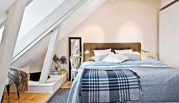 Das Kleine Schlafzimmer In Dachgeschosswohnung Die Vorteile Unterm