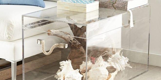 Dekorieren Und Basteln Mit Acrylglas_fantastische Wohnidee Mit Truhe
