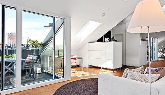 Eine moderne dachgeschosswohnung und seine vorteile for Dachgeschosswohnung dekorieren
